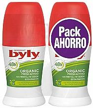 Parfums et Produits cosmétiques Coffret cadeau - Byly Organic Extra Fresh (deo/2x50ml)
