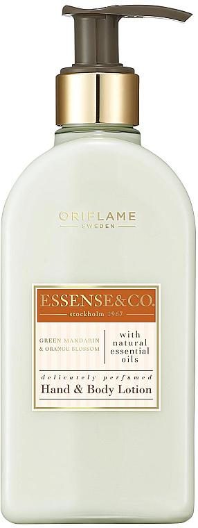 Lotion à la mandarine verte et fleur d'oranger pour mains et corps - Oriflame Essense & Co.