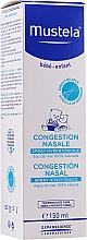 Parfums et Produits cosmétiques Spray hypertonique pour congestion nasale - Mustela Nasal Congestion Hipertonic Spray