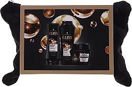 Parfums et Produits cosmétiques Schwarzkopf Gliss Kur Ultimate Repair - Set (shampooing/250ml + après-shampooing/200ml + masque/300ml + trousse de toilette)