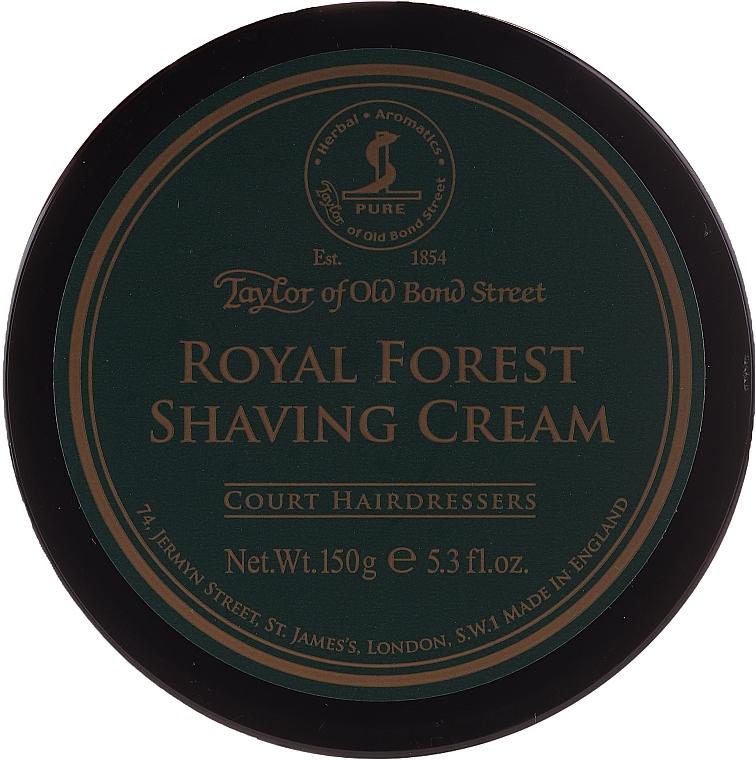 Crème à raser, Forêt royale - Taylor of Old Bond Street Royal Forest