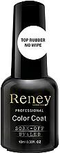 Parfums et Produits cosmétiques Top coat pour vernis semi-permanent - Reney Cosmetics Top Rubber No Wipe