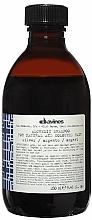 Parfums et Produits cosmétiques Shampooing aux protéines de lait hydrolysées (argent) - Davines Alchemic Shampoo