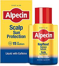 Parfums et Produits cosmétiques Fluide solaire à la caféine pour le cuir chevelu - Alpecin Scalp Sun Protection SPF15