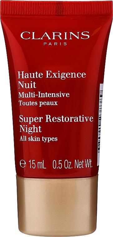 Coffret cadeau - Clarins Double Serum & Super Restorative (ser/30ml + cr/15ml + n/cr/15ml + bag) — Photo N4