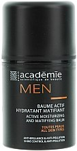 Parfums et Produits cosmétiques Baume actif hydratant matifiant - Academie Men Active Moist & Matifying Balm