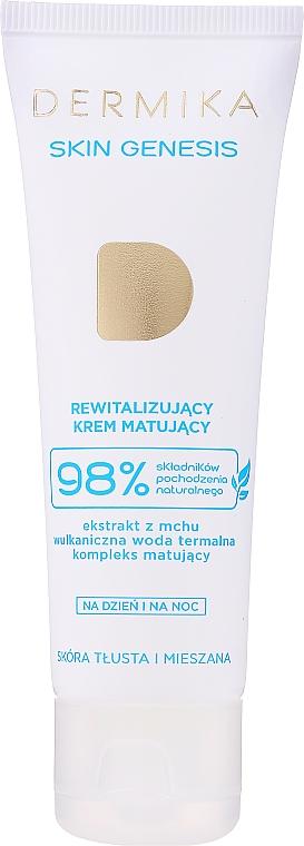 Crème aux sels minéraux pour visage - Dermika Skin Genesis