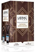 Parfums et Produits cosmétiques Coffret cadeau - Lierac Homme (shaving/mousse/150ml + gel/200ml)