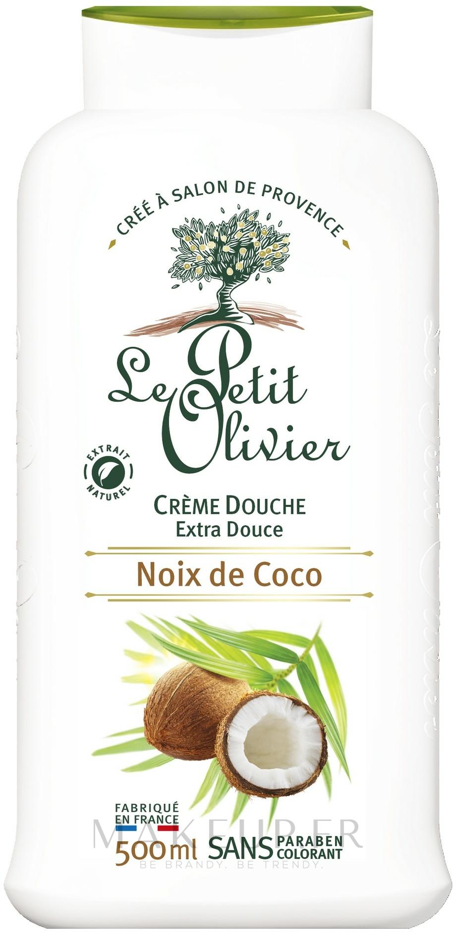 Crème de douche Noix de coco - Le Petit Olivier Coconut — Photo 500 ml