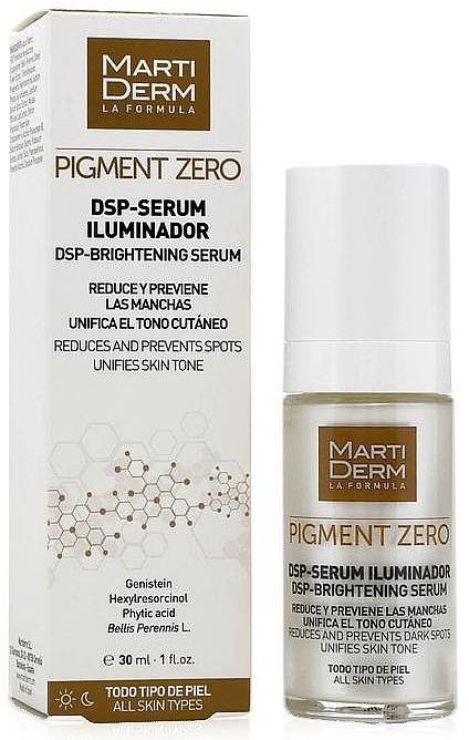Sérum à l'acide phytique pour visage - MartiDerm Pigment Zero DSP-Serum Iluminador — Photo N2