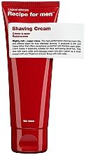 Parfums et Produits cosmétiques Crème à raser - Recipe For Men Shaving Cream