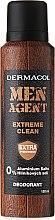 Parfums et Produits cosmétiques Déodorant spray - Dermacol Men Agent Extreme Clean Deodorant