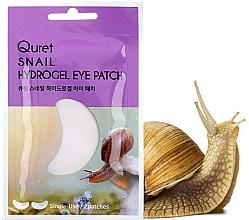 Parfums et Produits cosmétiques Patchs pour contour des yeux - Quret Snail Hydrogel Eye Patch