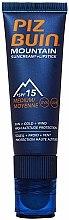 Parfums et Produits cosmétiques Crème solaire pour visage et bouche SPF 15 - Piz Buin Mountain Sun Cream Plus Lipstick SPF15