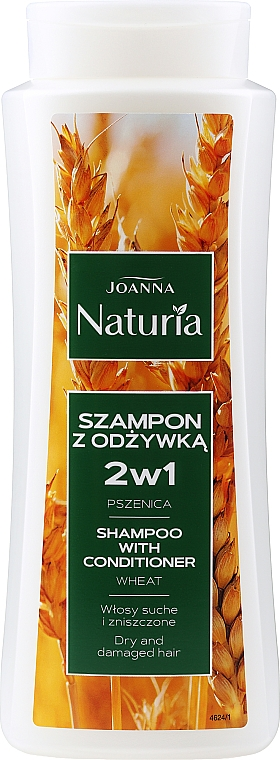 Shampooing et après-shampooing au blé - Joanna Naturia Shampoo With Conditioner With Wheat
