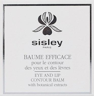 Baume pour contour des yeux et lèvres - Sisley Baume Efficace Botanical Eye and Lip Contour Balm — Photo N4