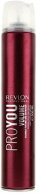 Laque cheveux fixation moyenne - Revlon Professional Pro You Volume Hair Spray — Photo N1