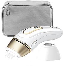 Parfums et Produits cosmétiques Épilateur à lumière pulsée, blanc - Braun Silk-Expert Pro 5 PL 5117 IPL