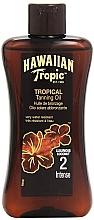 Parfums et Produits cosmétiques Lotion accélératrice de bronzage - Hawaiian Tropic Sun Tan Oil Intense SPF 2