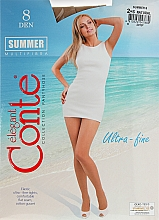 Parfums et Produits cosmétiques Collant pour femme, Summer, 8 Den, natural - Conte