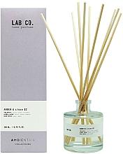 Parfums et Produits cosmétiques Bâtonnets parfumés, Ambre et Clou de girofle - Ambientair Lab Co. Amber & Clove