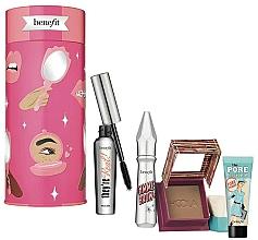 Parfums et Produits cosmétiques Coffret cadeau - Benefit Bring Your Own Beauty Set (mascara/8g + br/gel/3g + bronzer/8g + primer/7.5ml)