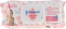 Parfums et Produits cosmétiques Lingettes humides hypoallergéniques à l'extrait de soie - Johnson's® Baby
