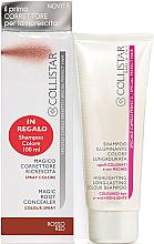Parfums et Produits cosmétiques Collistar Special Perfect Hair Magic Root Concealer Red - Set (shampooing illuminateur/100 ml + spray coloré/75ml)