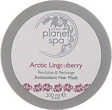Parfums et Produits cosmétiques Masque antioxydant à l'extrait d'airelle pour cheveux - Avon Planet Spa Arctic Lingonberry Hair Mask