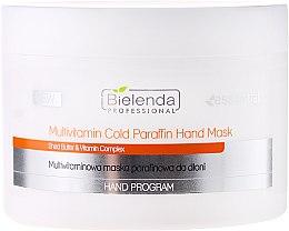 Parfums et Produits cosmétiques Masque au beurre de karité et vitamines pour mains - Bielenda Professional Multivitamin Cold Paraffin Hand Mask