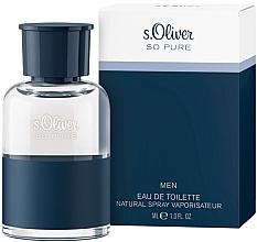 Parfums et Produits cosmétiques S. Oliver So Pure Men - Eau de Toilette