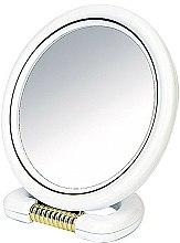 Parfums et Produits cosmétiques Miroir à poser double face 9509, 18,5 cm, blanc - Donegal Mirror