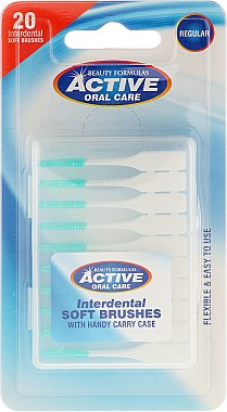 Brossettes interdentaires souples - Beauty Formulas Active Oral Care Interdental Soft Brushes