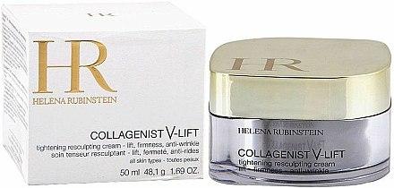 Crème à l'huile de noyau d'abricot pour visage - Helena Rubinstein Collagenist V-Lift Tightening Resculpting Cream — Photo N1