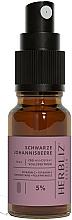 Parfums et Produits cosmétiques Spray buccal à l'huile de CBD 5%, Cassis - Herbliz CBD Oil Mouth Spray 5%