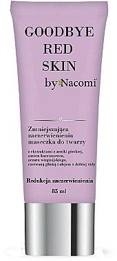 Masque à l'argile rouge pour visage - Nacomi Goodbye Red Skin Mask