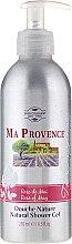Parfums et Produits cosmétiques Gel douche naturel Rose de mai - Ma Provence Shower Gel Rose Of May