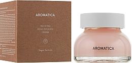 Parfums et Produits cosmétiques Crème à la rose et extrait d'aloe vera pour visage - Aromatica Reviving Rose Infusion Cream