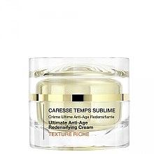 Parfums et Produits cosmétiques Crème anti-âge riche pour visage - Qiriness Caresse Temps Sublime