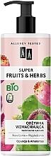 Parfums et Produits cosmétiques Après-shampooing bio à l'extrait de lavande, Opuntia et Amaranth - AA Super Fruits Herbs Conditioner