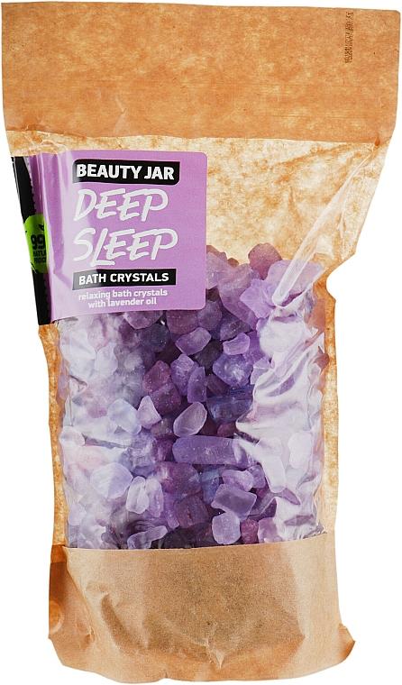 Cristaux de bain relaxants à l'huile de lavande - Beauty Jar Bath Crystals