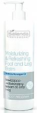 Parfums et Produits cosmétiques Baume rafraîchissant au menthol pour jambes et pieds - Bielenda Professional Foot Program