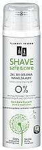 Parfums et Produits cosmétiques Gel de rasage hydratant - AA Shave Safe&Care