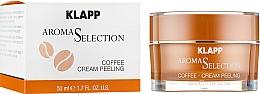 Parfums et Produits cosmétiques Crème exfoliante à la poudre de café pour visage - Klapp Aroma Selection Coffee Cream Peeling