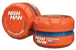 Parfums et Produits cosmétiques Cire coiffante - Nishman Hair Styling Wax 02 Sport