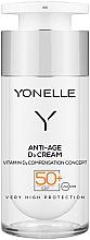 Parfums et Produits cosmétiques Crème à l'acide hyaluronique pour visage - Yonelle Anti-Age D3 Cream SPF50+