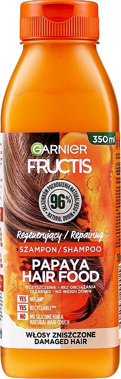 Shampooing à la papaye - Garnier Fructis Repairing Papaya Hair Food Shampoo