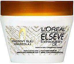 Parfums et Produits cosmétiques Masque à l'huile de coco pour cheveux - L'Oreal Paris Elseve Extraordinary Oil Coconut Hair Mask