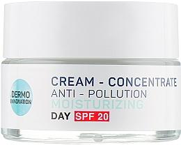 Parfums et Produits cosmétiques Crème concentrée détoxifiante aux vitamines C et E pour visage - Vollare Multi-Active Detox C+E Cream-Concentrate