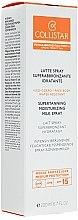 Lait spray superbronzant hydratant - Collistar Supertanning Moisturing Milk Spray SPF 15 — Photo N1